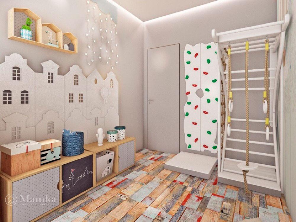 Необычный дизайн маленькой детской комнаты для мечтателей 4