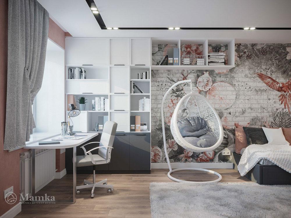 Необычные идеи детской комнаты для девочки 1