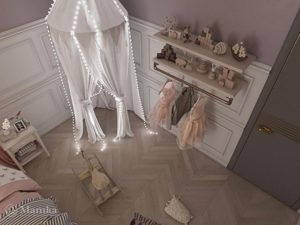 Необычные и очень яркие идеи детской комнаты для девочки 1