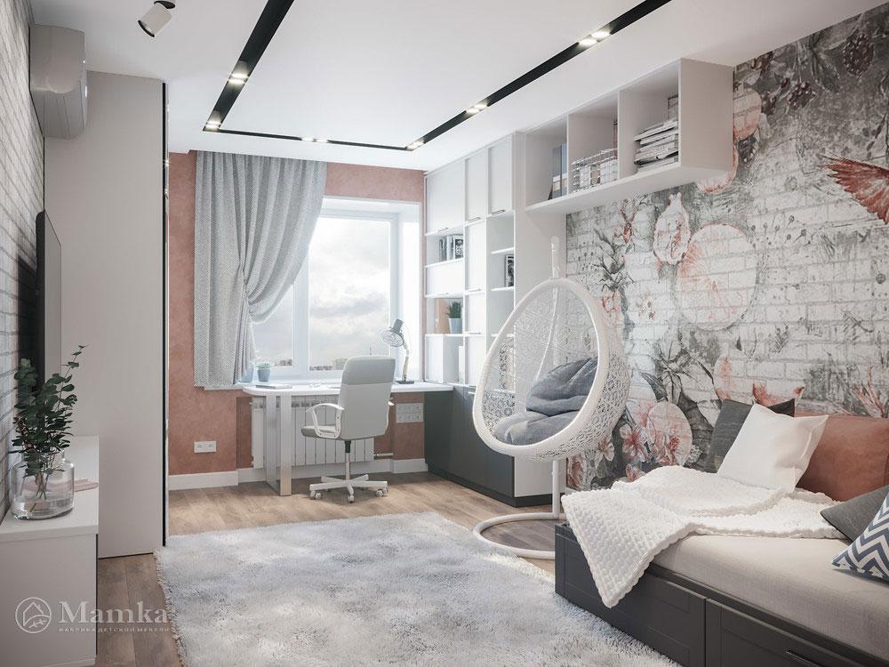 Необычные идеи детской комнаты для девочки 2