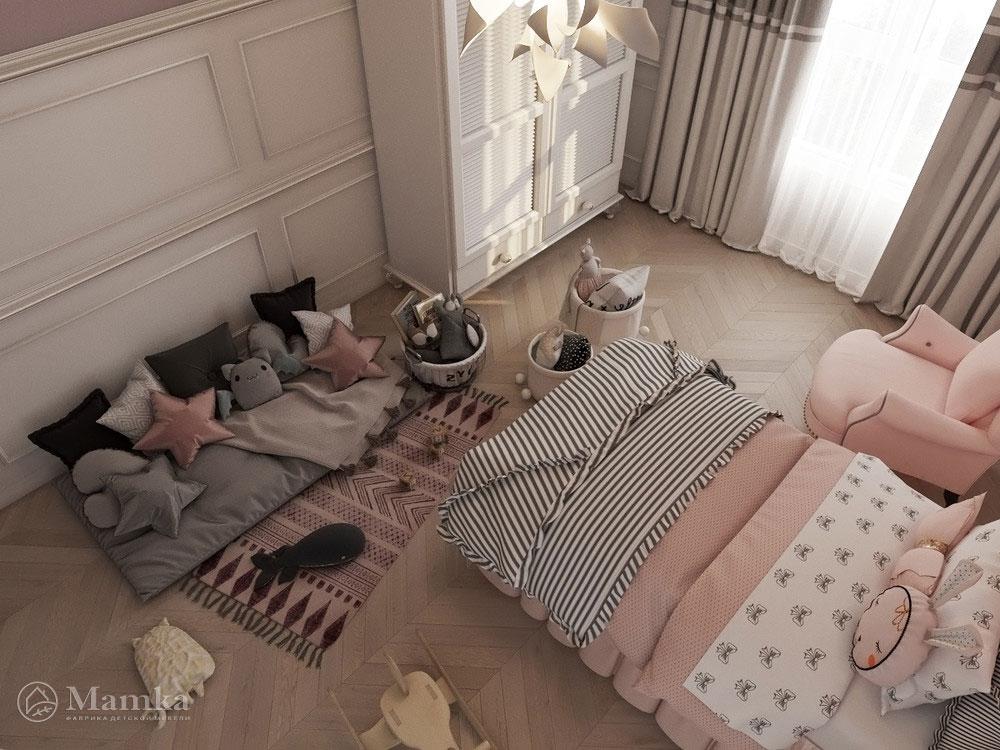 Необычные и очень яркие идеи детской комнаты для девочки 2