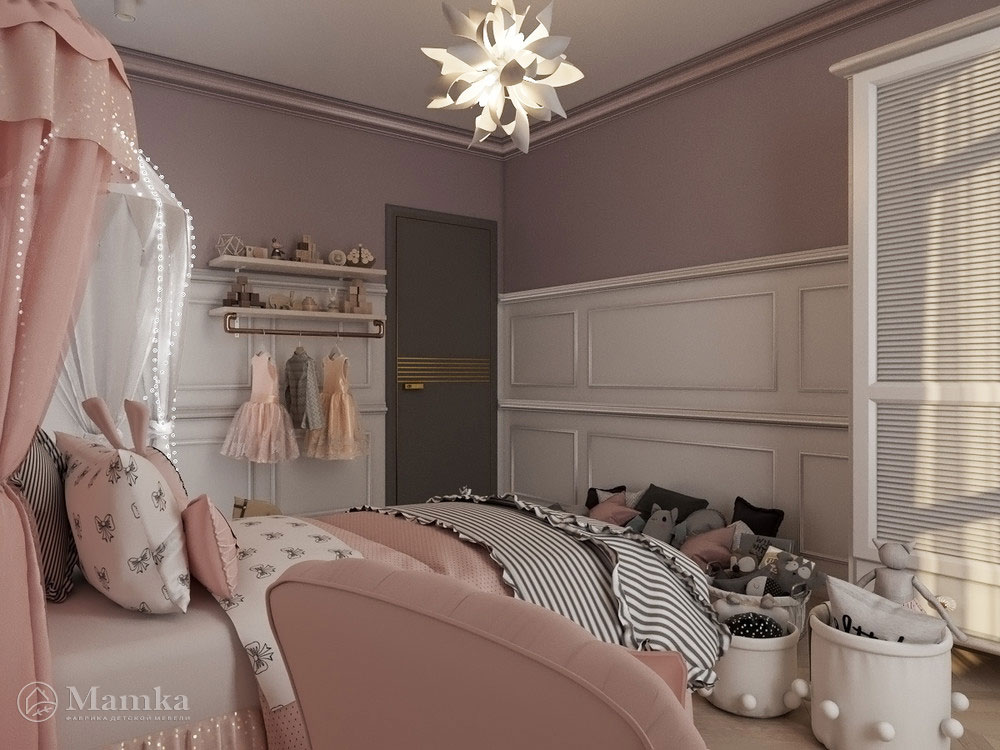 Необычные и очень яркие идеи детской комнаты для девочки 3