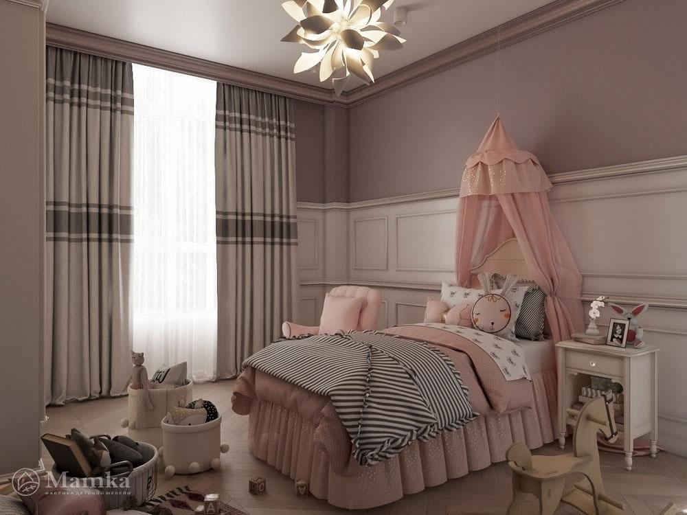 Необычные и очень яркие идеи детской комнаты для девочки 4