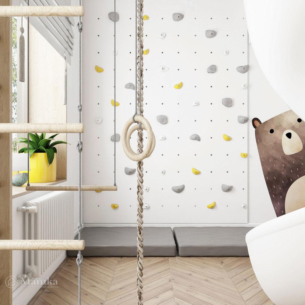 Неординарный дизайн детской комнаты для ребенка 1