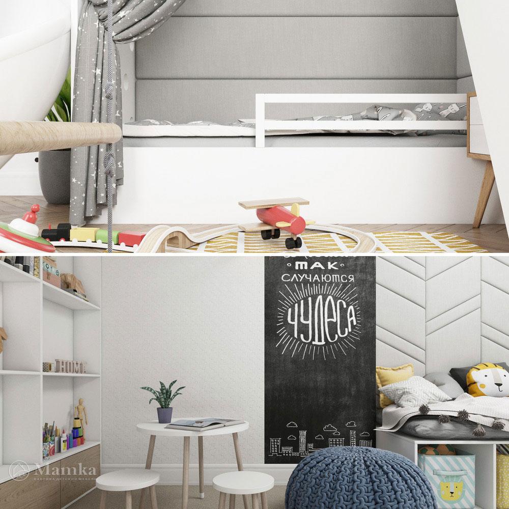 Неординарный дизайн детской комнаты для ребенка 17