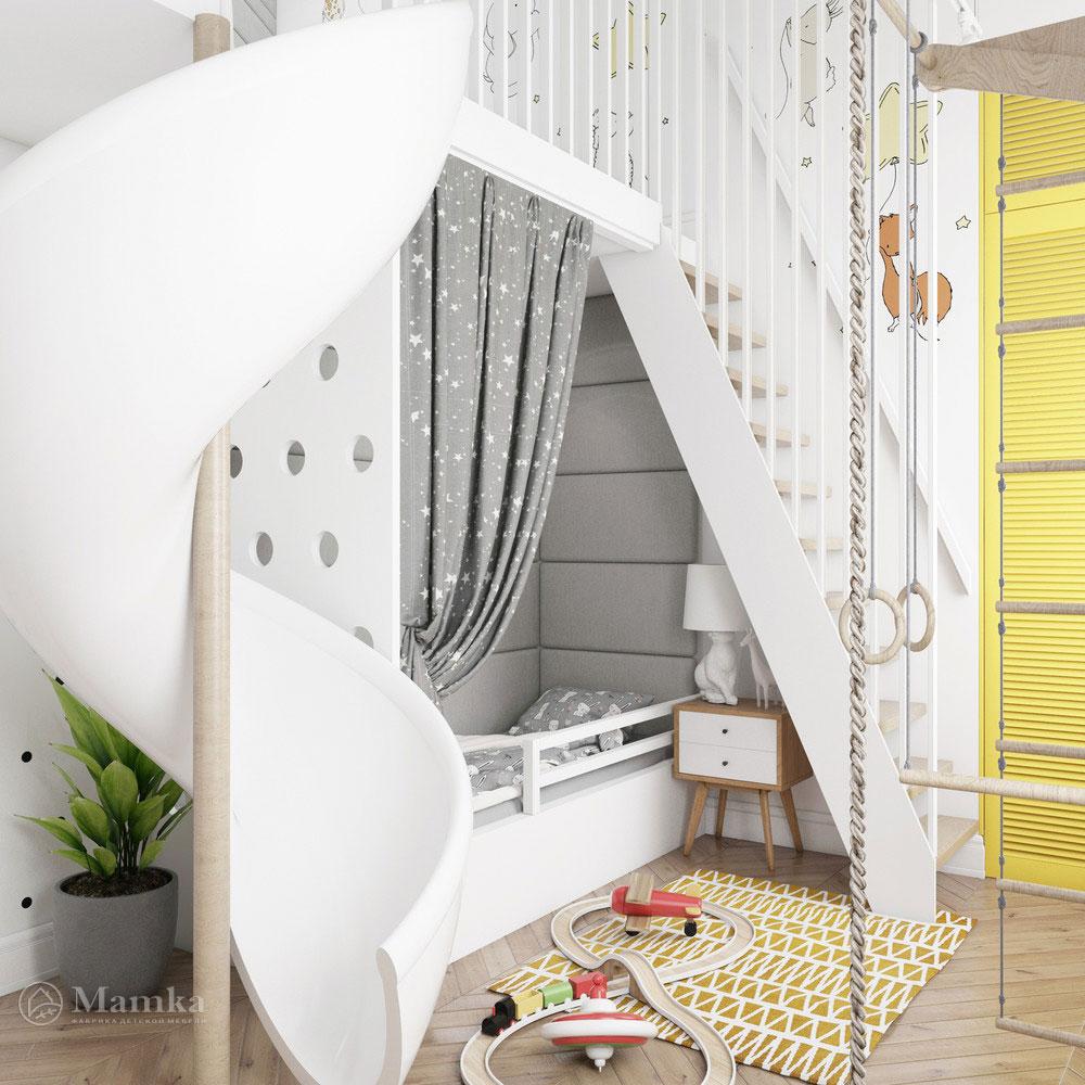Неординарный дизайн детской комнаты для ребенка 2