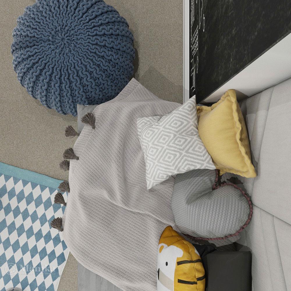 Неординарный дизайн детской комнаты для ребенка 20