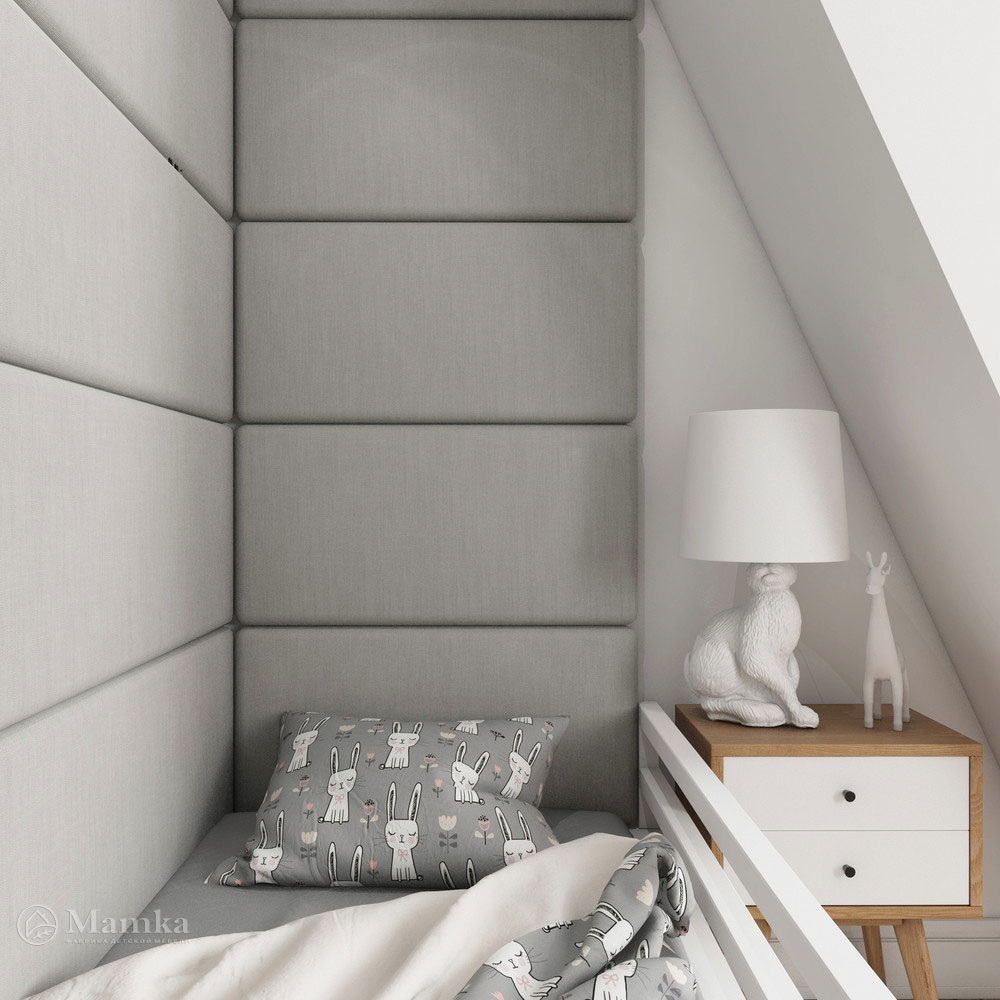 Неординарный дизайн детской комнаты для ребенка 7