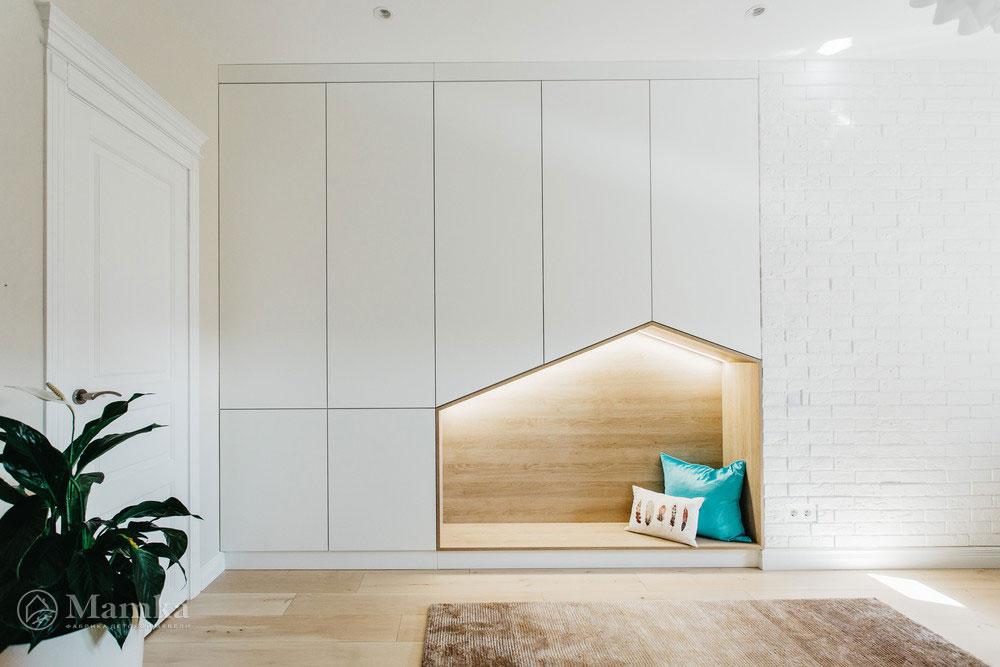 Нестандартный и привлекательный дизайн детской спальни 1