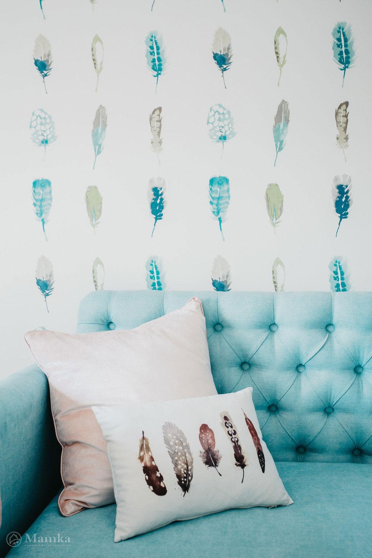 Нестандартный и привлекательный дизайн детской спальни 5