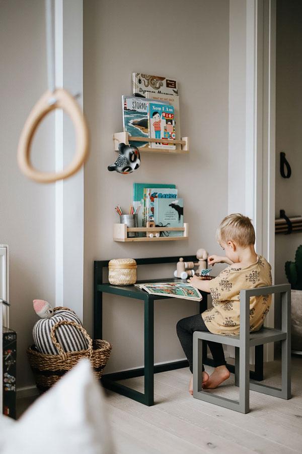 Уголок для творчества в детской комнате