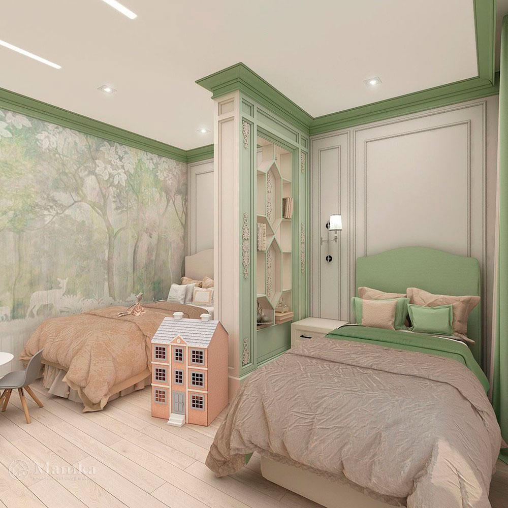 Нежные и красочные идеи детских комнат для девочек 1