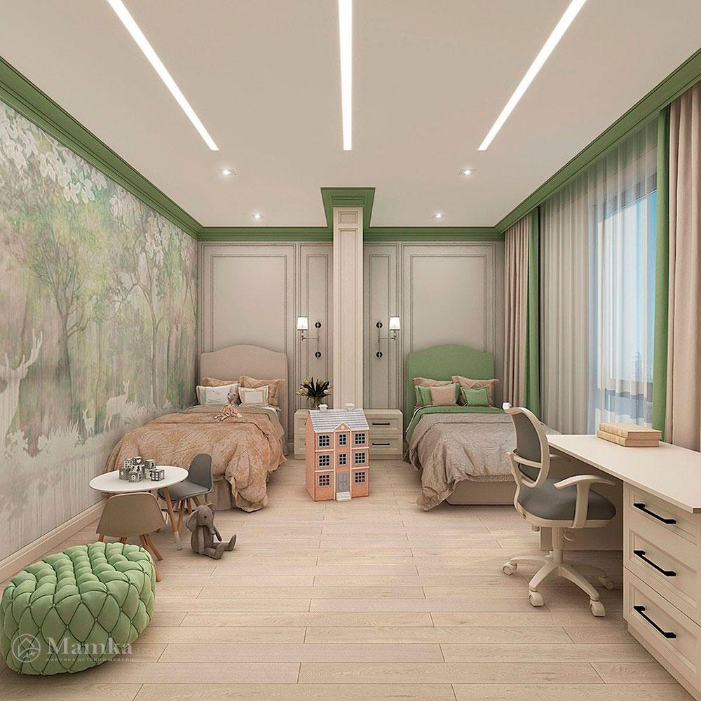Нежные и красочные идеи детских комнат для девочек 2