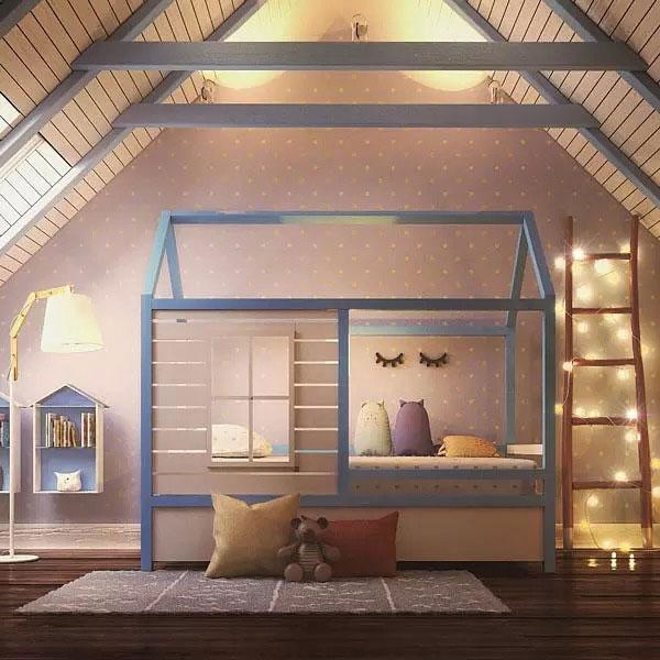 Нужна ли ребенку кровать домик 2