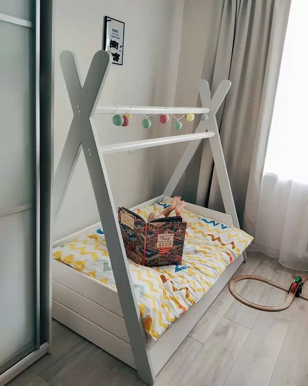 Нужна ли ребенку кровать домик 3