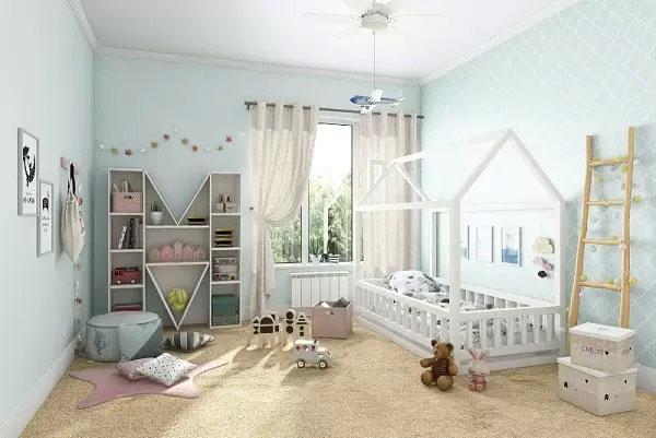 Нужна ли ребенку кровать домик 4