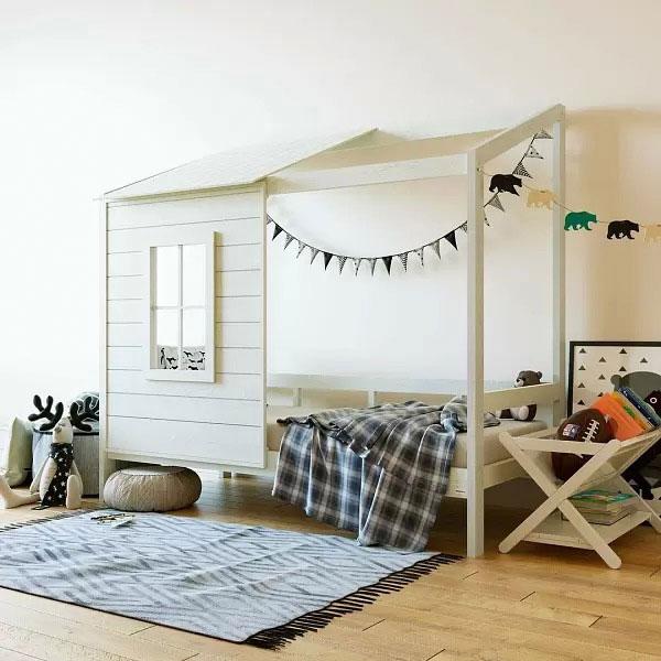 Нужна ли ребенку кровать домик 6