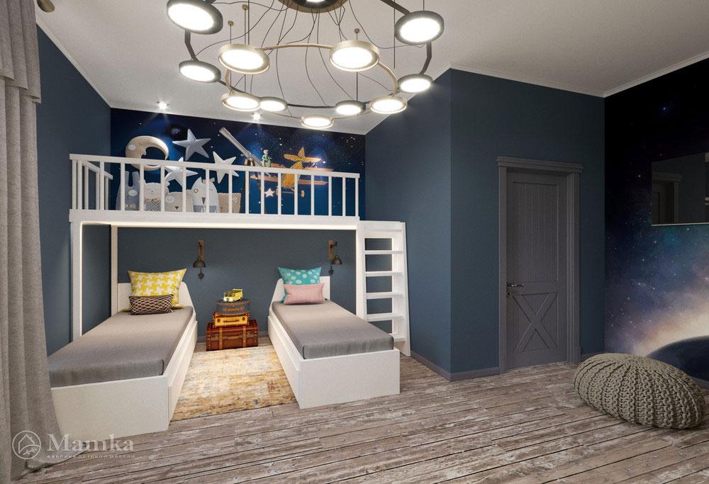 Действительно оригинальная идея для детской комнаты