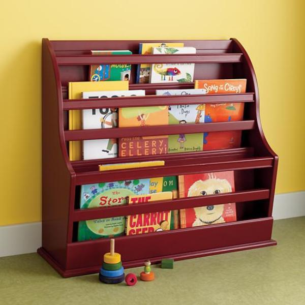 Креативный дизайн полки для детской для книг