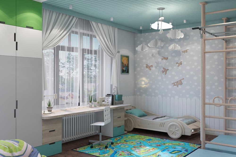 Дизайн детской комнаты в скандинавском стиле 1