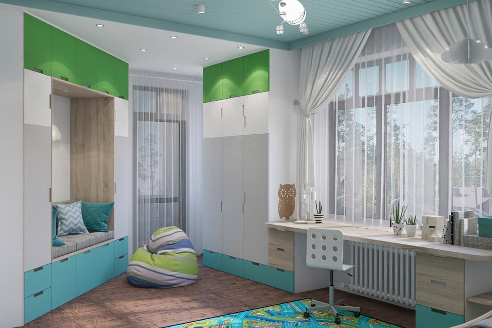 Дизайн детской комнаты в скандинавском стиле 2