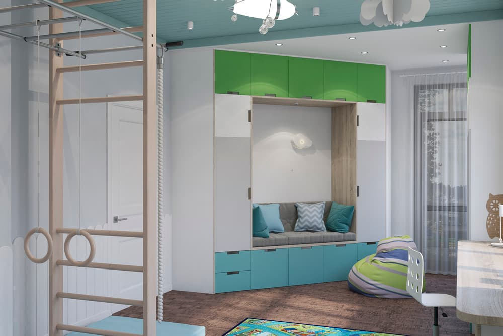 Дизайн детской комнаты в скандинавском стиле 3
