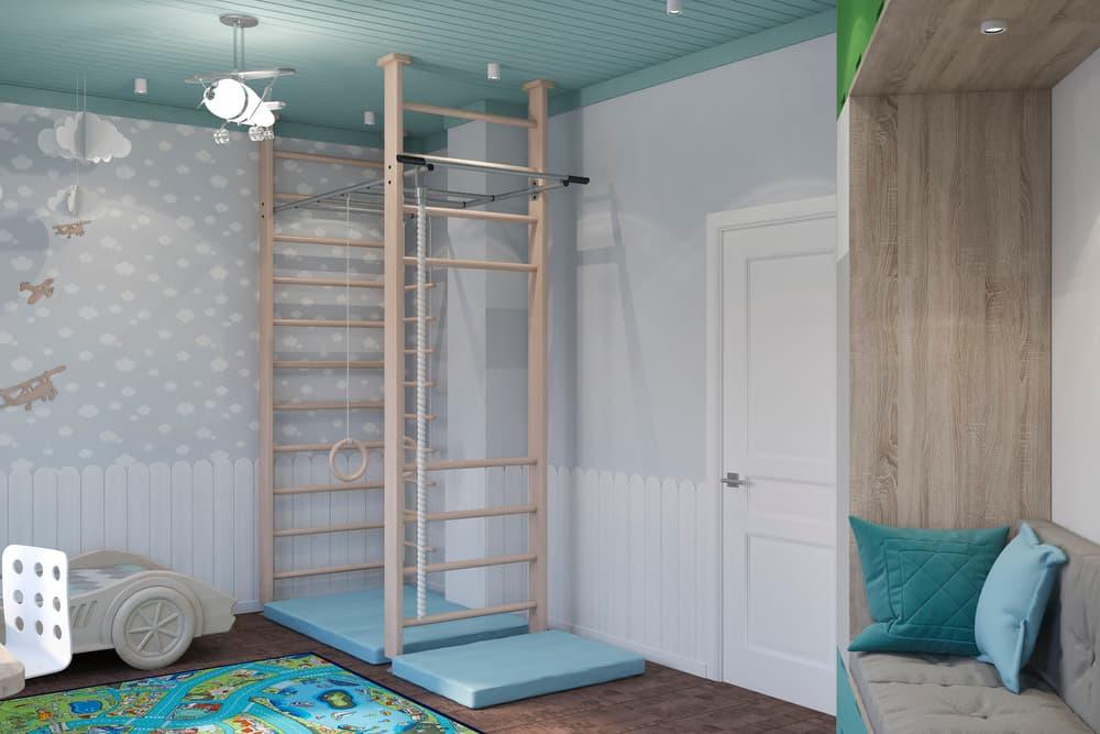 Дизайн детской комнаты в скандинавском стиле 4