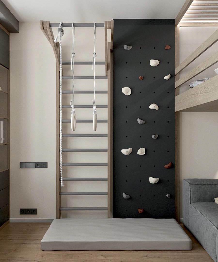 Подростковая мебель в комнату мальчика проект 3671-2