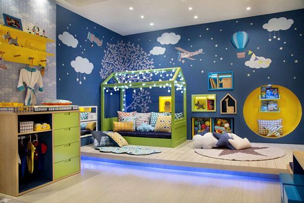 Дизайнерский интерьер детской - фото 5