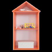 Полка домик для детской D3