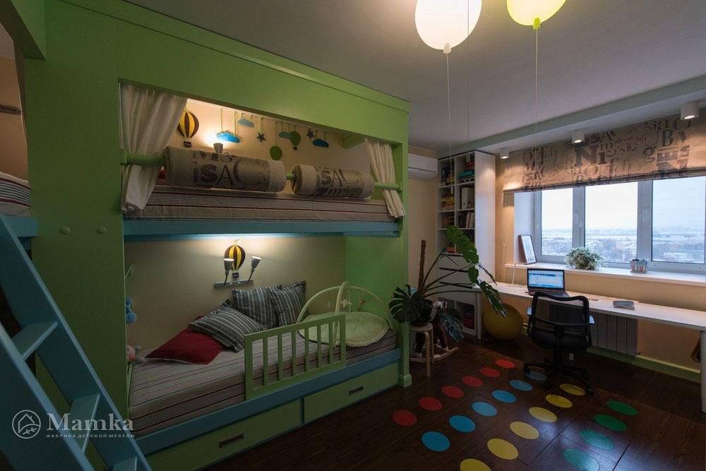 Удобная и просторная детская-игровая для современных детей 2