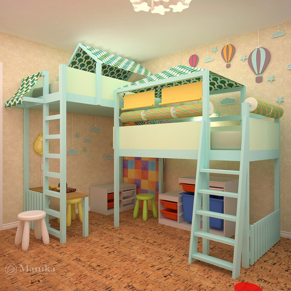 Неповторимый дизайн детской в современном стиле 4