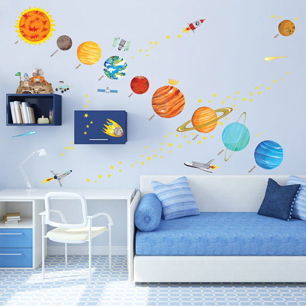 Дизайнерский интерьер детской - фото 10