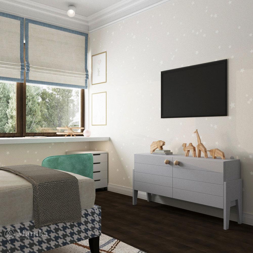 Рациональный интерьер детской комнаты для мальчика 3
