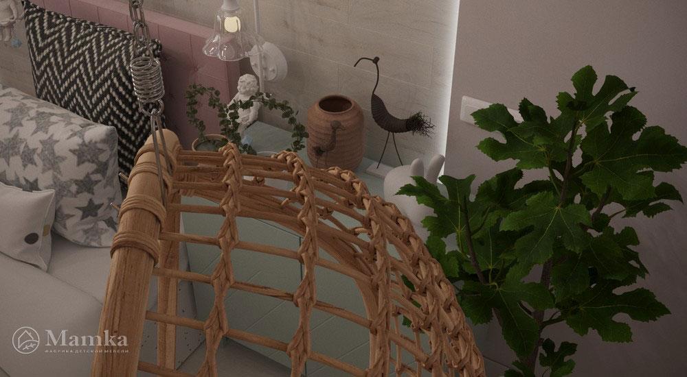 Роскошный дизайн детской спальни в светлых тонах 3
