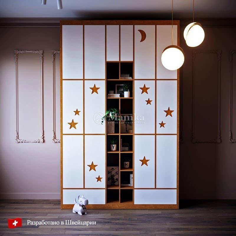 Шкаф для детской от мебельной фабрики Mamka 1