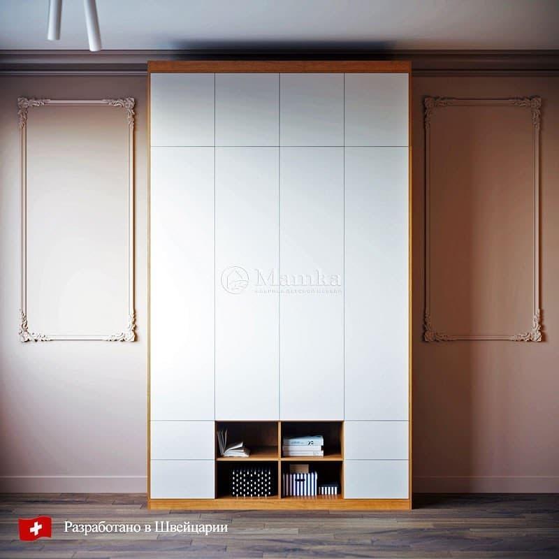 Шкаф для детской от мебельной фабрики Mamka 8