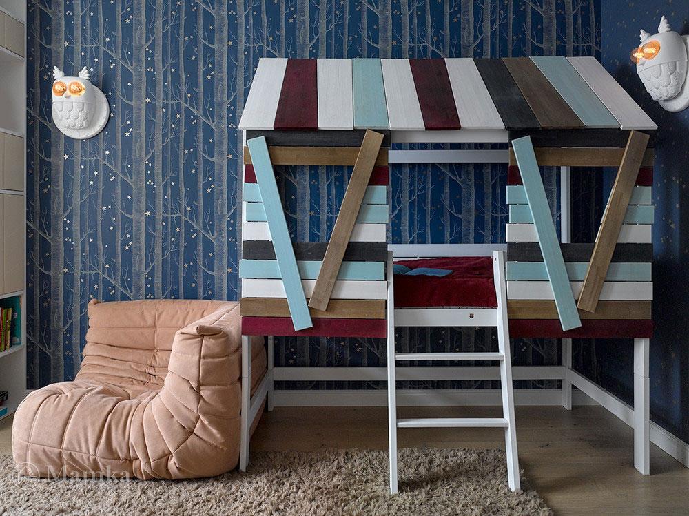 Современный дизайн детских спален для мальчиков 1