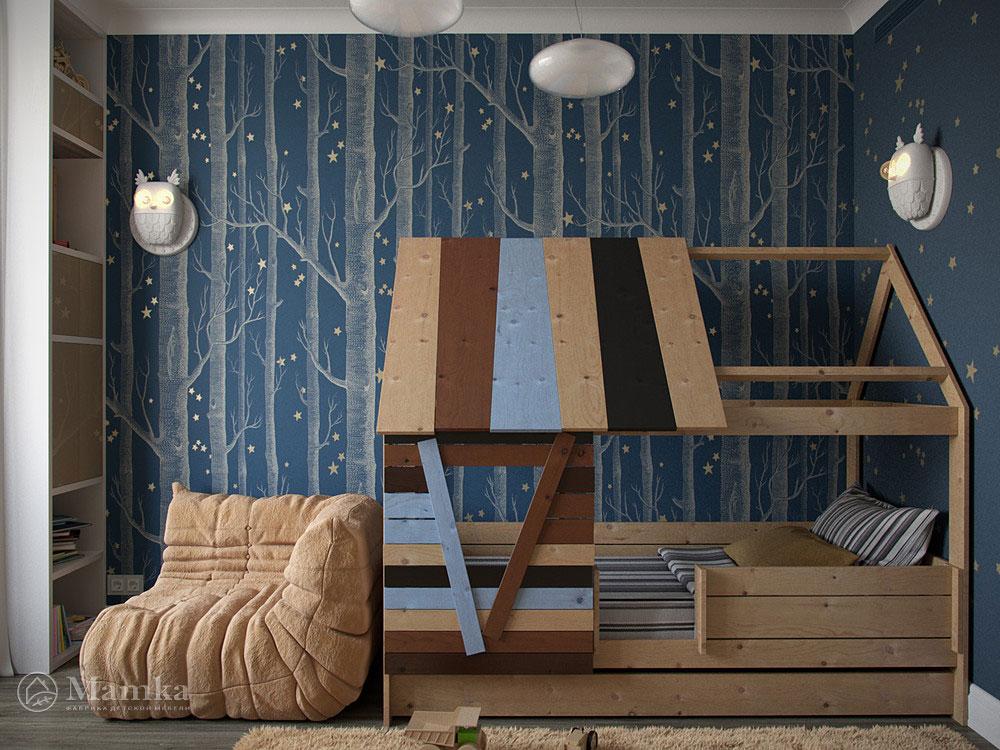 Дизайн детских спален для мальчиков