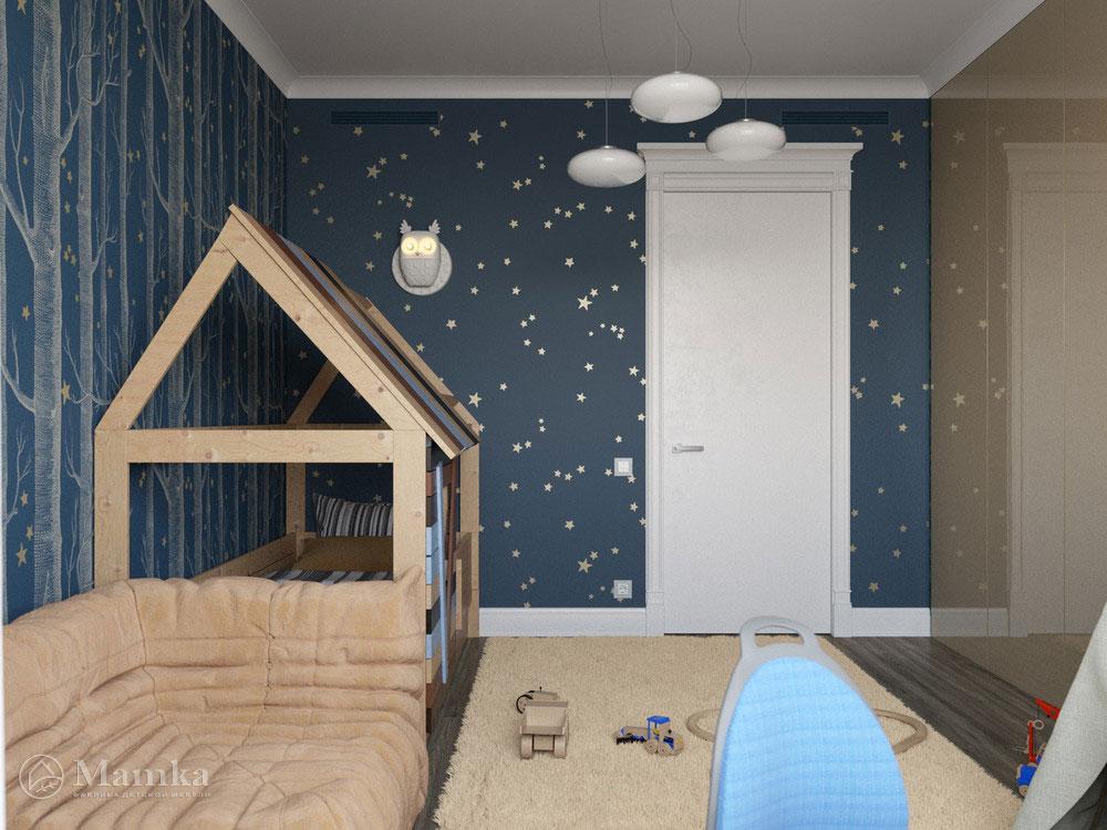 Современный дизайн детских спален для мальчиков 3