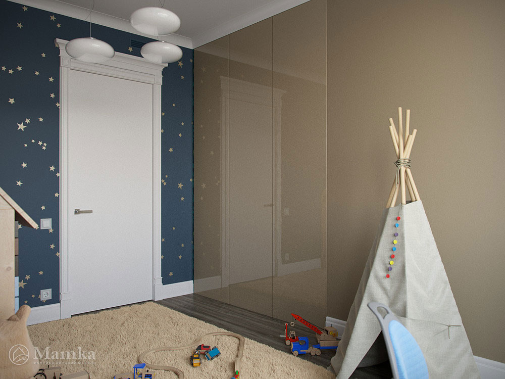Современный дизайн детских спален для мальчиков 4