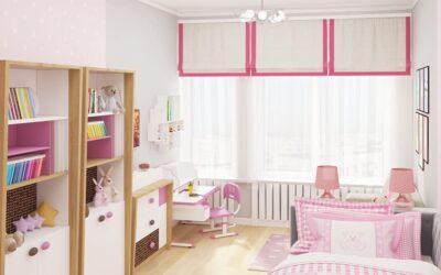 Моя комната — мой мир! Необычный дизайн детской комнаты для девочки