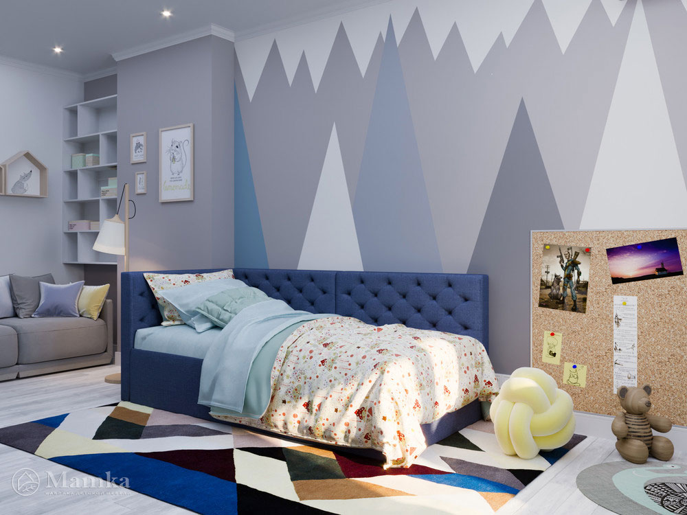 Современные идеи для детской комнаты мальчика 1