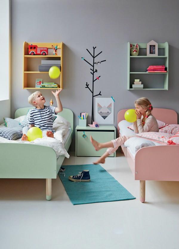 Стильная мебель для детской от Flexa