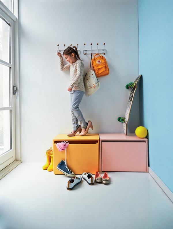 Стильная мебель для детской: тумбочки с выдвижным ящиком