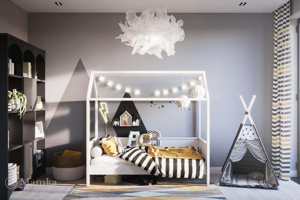 Стильный дизайн детской игровой комнаты для ваших детей 1
