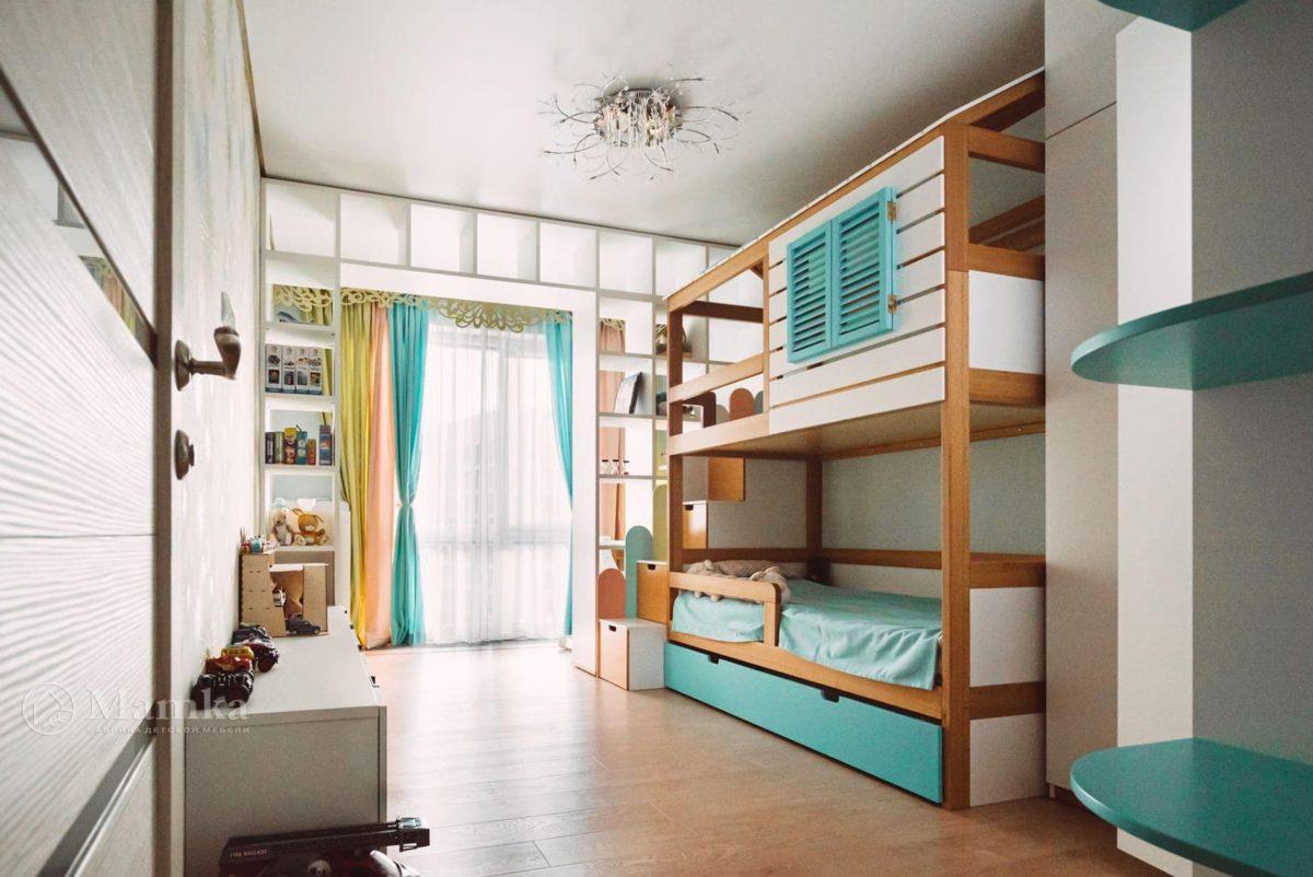 Светлая детская комната для мальчика 2 лет фото 2