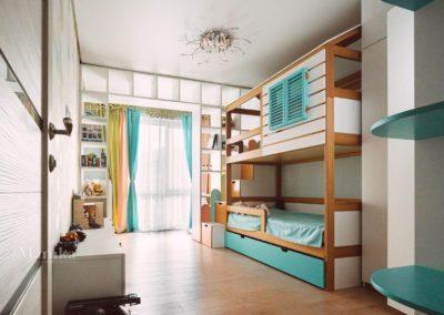 Светлая детская комната для мальчика 2-х лет