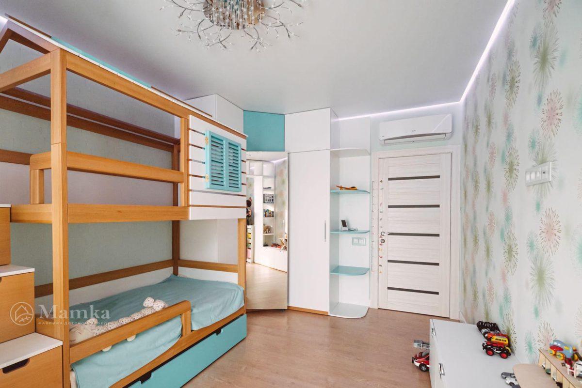Светлая детская комната для мальчика 2 лет фото 3