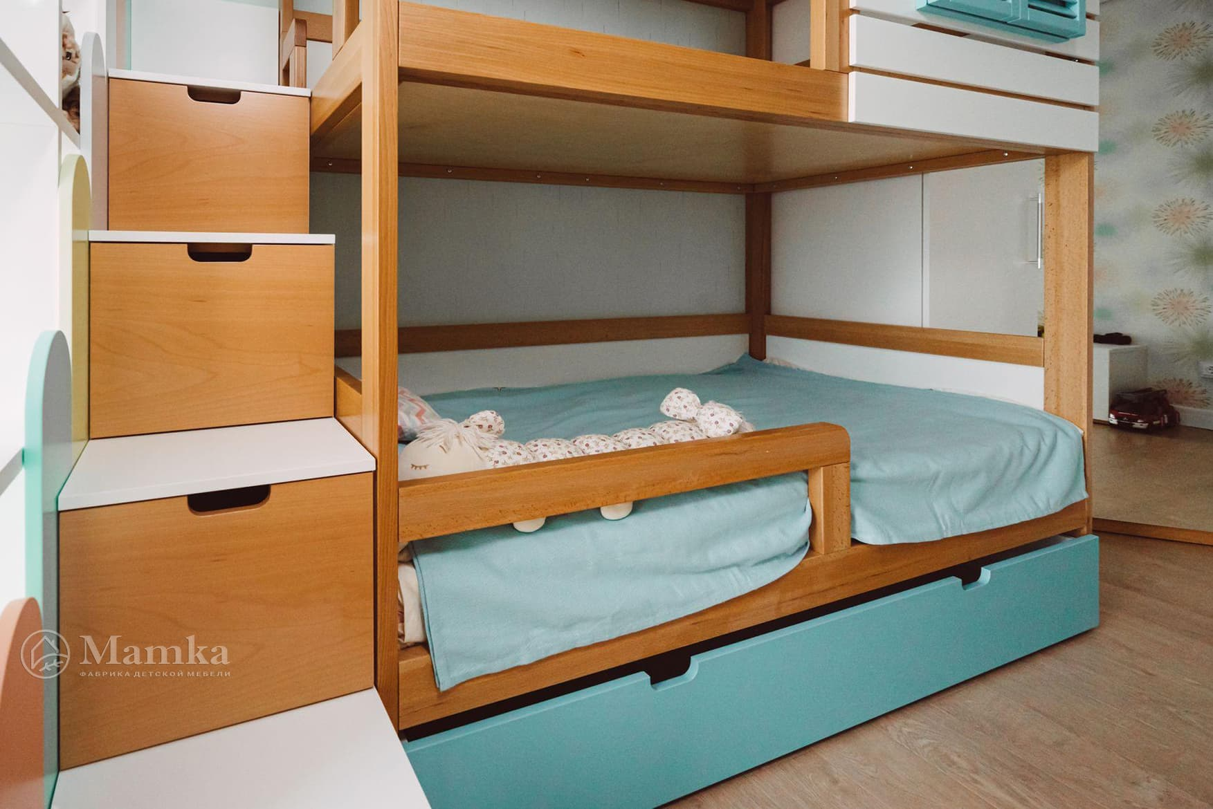 Светлая детская комната для мальчика 2 лет фото 7